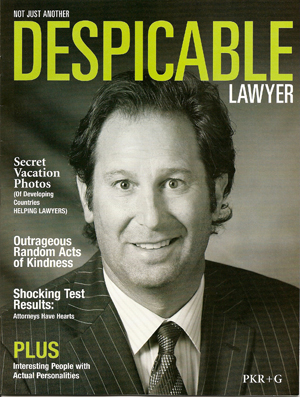 Despicable Lawyer, law firm marketing