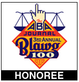 ABA Journal 3rd Annual Blawg 100 Honoree 2009