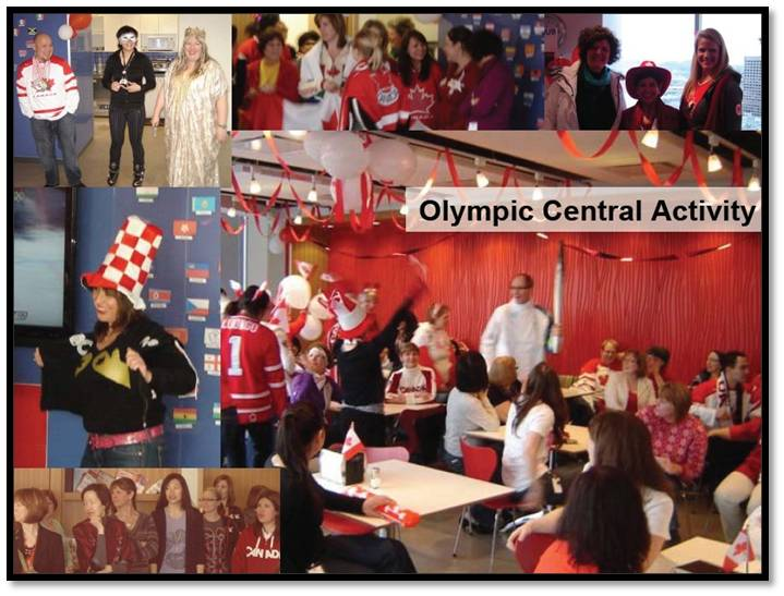 Fasken Olympic Central Activity