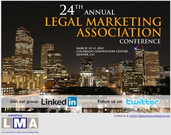LMA Annual Meeting March 2010 Denver