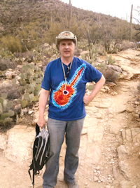 Larry Bodine, Phoneline trail, Tucson, Arizona