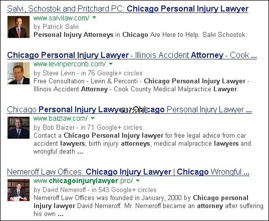 Google authorship, law firm marketing, legal marketing