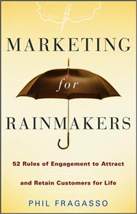 Law firm marketing, marketing for rainmakers, business development