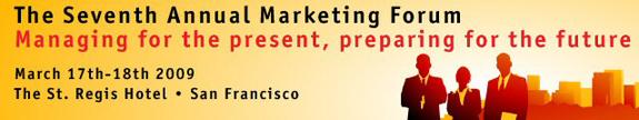 Economist marketing forum