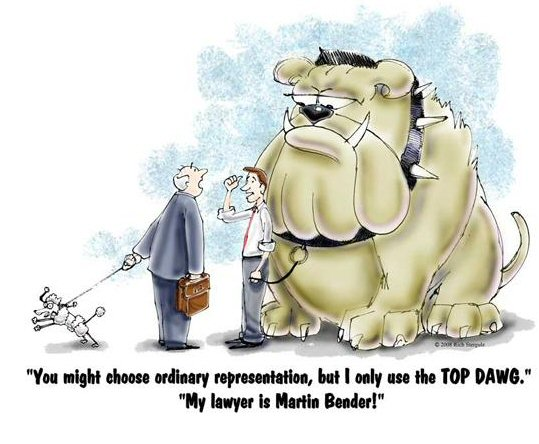 Top Dawg, lawyer cartoons