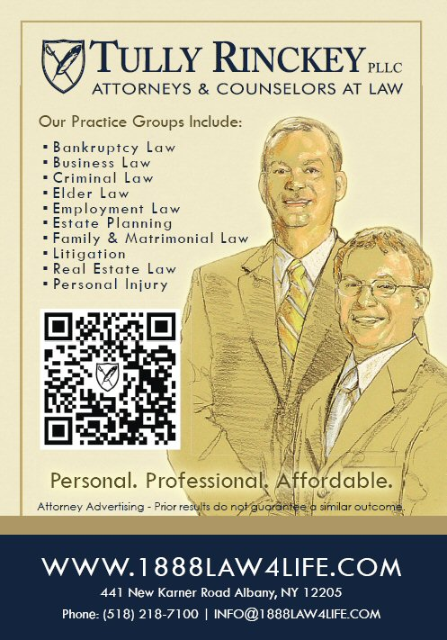 Tully Rinckey, qr code, law firm marketing, legal marketing