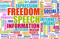 free speech, first amendment, free press, bloggers are journalists, law firm marketing