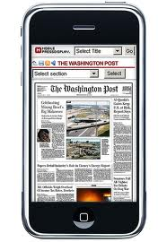 newspaper magazine iphone android cell phone online legal marketing law firm marketing