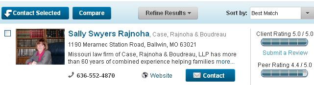 lawyers.com online bio, law firm marketing, legal marketing