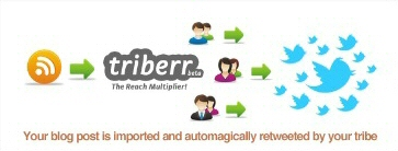triberr social media twitter blogs bloggers