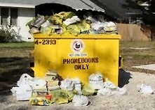 yellow pages dumpters, law firm marketing, legal marketing, lawmarketing